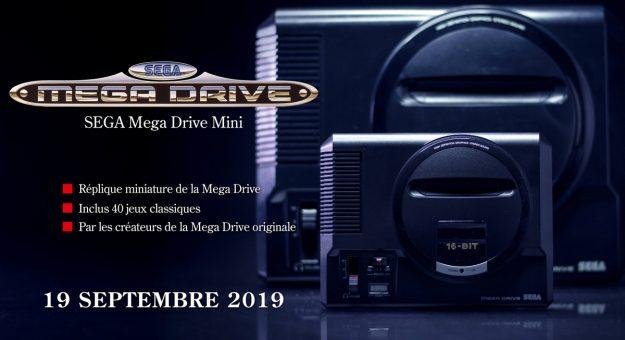 Mega Drive Mini : Sega dévoile dix nouveaux titres