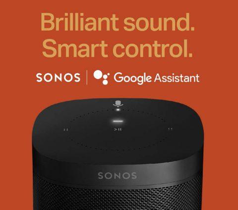 Google Assistant arrive sur les enceintes Sonos, mais pas encore en France