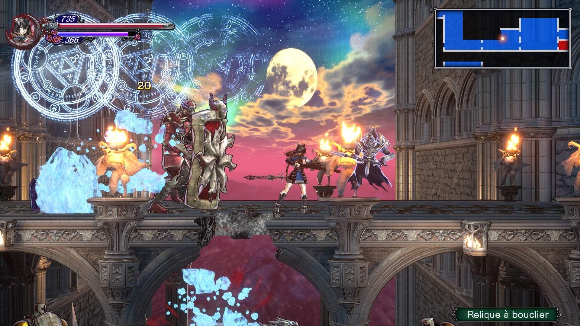 Test de Bloodstained – Ritual of the Night : comme un hommage