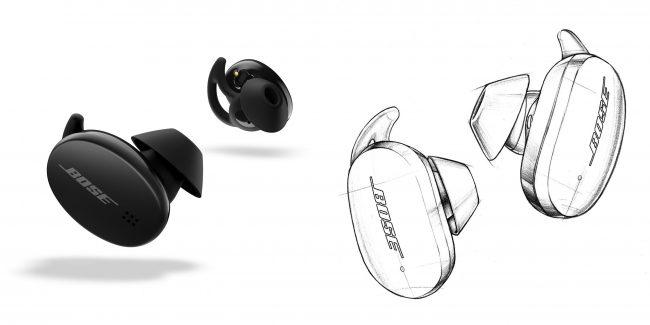 Earbuds 500 (à gauche) & Earbuds 700 (à droite) © Bose