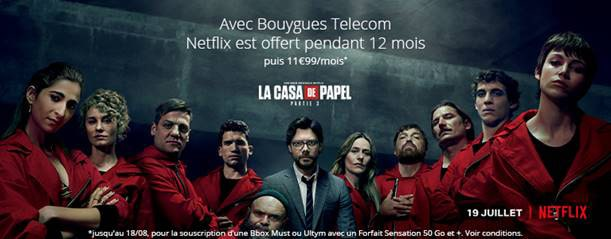 Bouygues Telecom Netflix