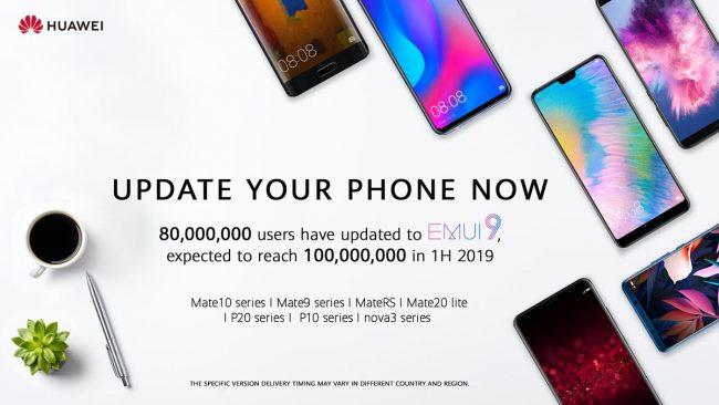 Huawei EMUI millions