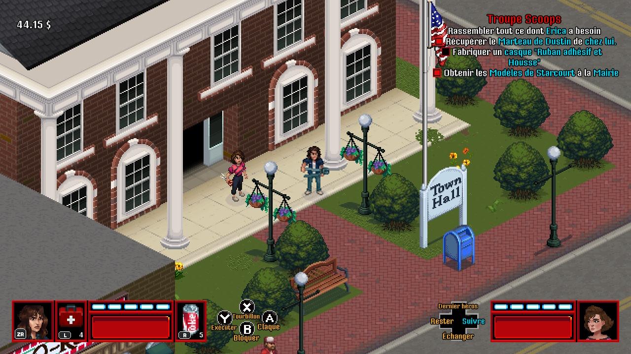 Test de Stranger Things 3 The Game : L'adaptation au goût rétro