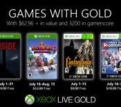 Xbox Games with Gold : les jeux gratuits de juillet 2019
