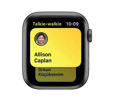 Apple Watch : la montre connectée retrouve sa fonction Talkie-Walkie