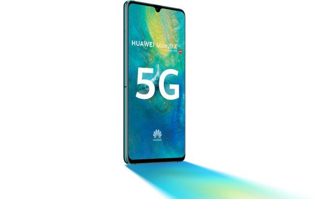 Un smartphone du constructeur chinois compatible 5G © Huawei