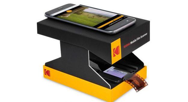 Mobile Film Scanner : Kodak lance son mini-scanner pour films et diapositives