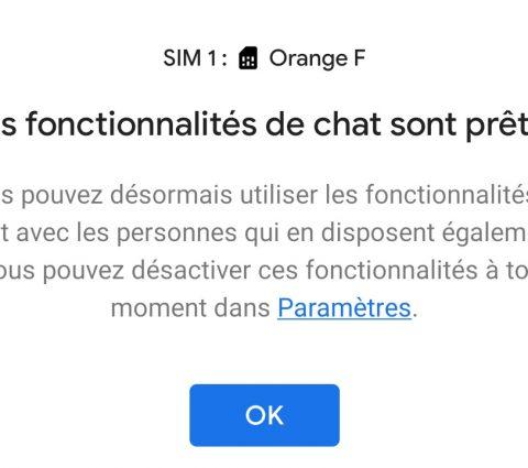 RCS : le successeur du SMS est enfin disponible pour tous sur Android