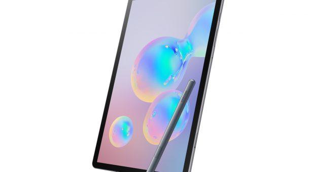 Galaxy Tab S6 : Samsung dévoile sa nouvelle tablette haut de gamme