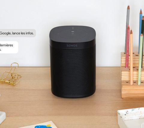 Google Assistant est enfin disponible sur les enceintes Sonos en France