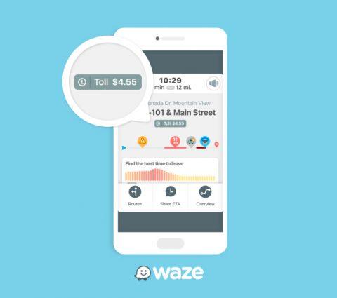 Waze commence à afficher les prix des péages autoroutiers