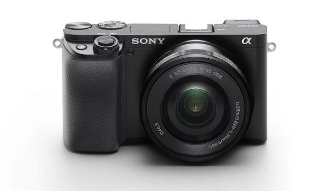 Le Sony Alpha 6100