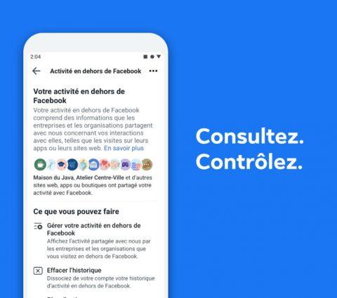 Facebook permet de voir quels sites partagent des données avec son réseau social