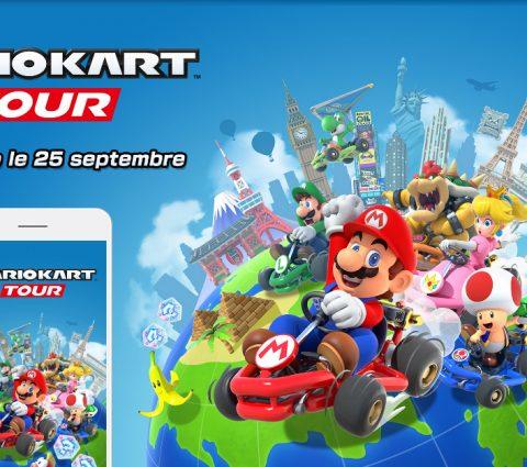 Mario Kart Tour est désormais disponible sur Android et iOS
