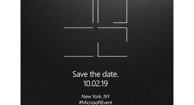Microsoft annonce un événement Surface pour le 2 octobre