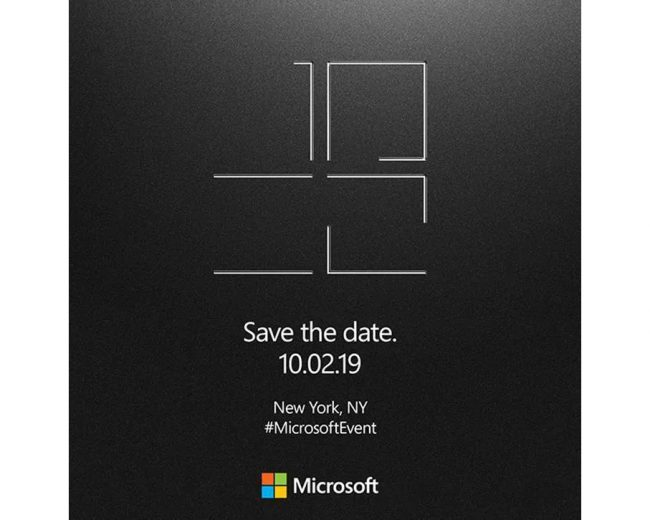 Microsoft conférence Surface 2019