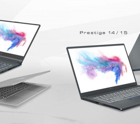 MSI renouvelle ses gammes de PC portables Prestige et Modern
