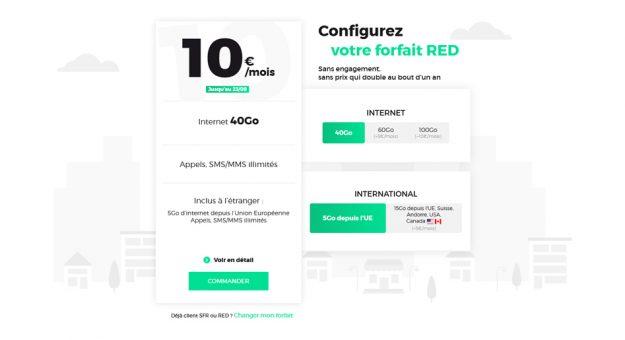 RED by SFR revoit son offre et lance un forfait mobile unique