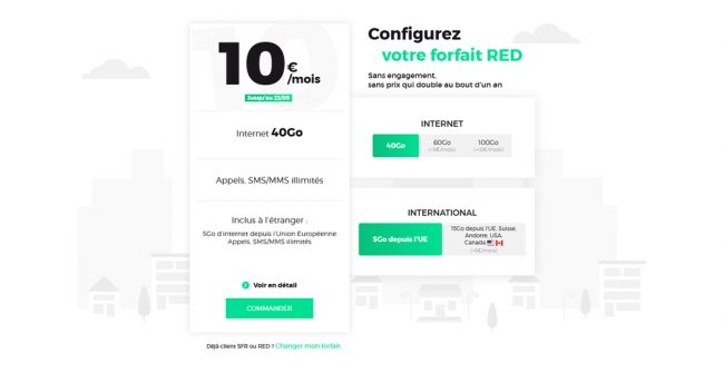 RED by SFR forfait