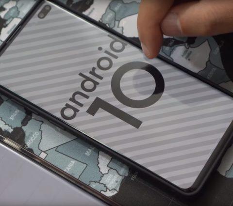 Android 10 et One UI 2.0 : la nouvelle interface de Samsung se dévoile en vidéo
