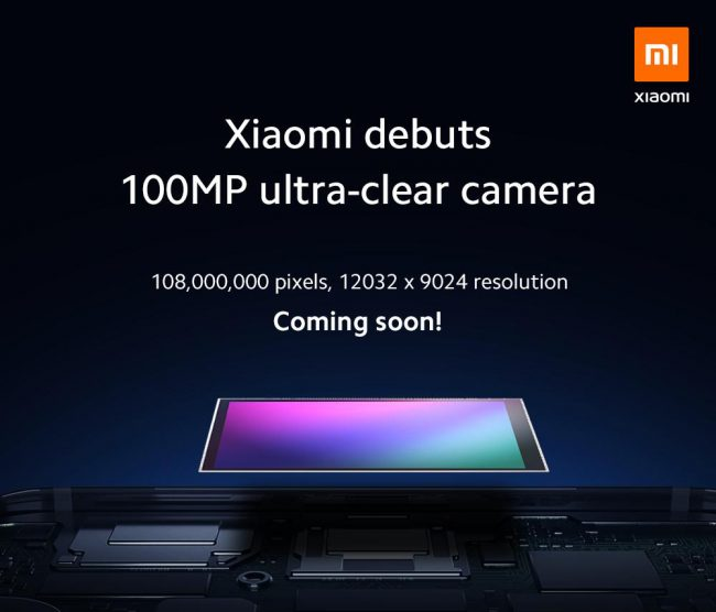 Xiaomi 100 mégapixels