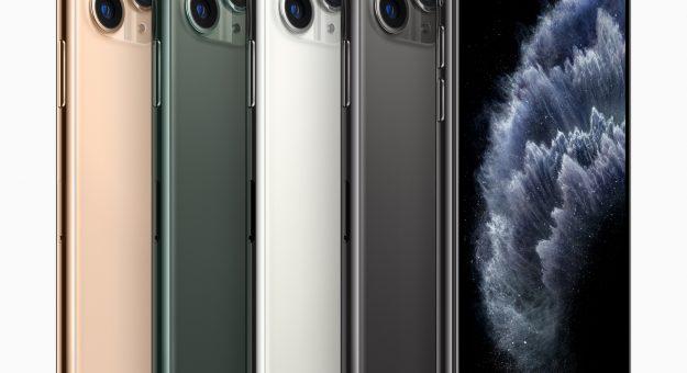 iPhone 11 Pro et iPhone 11 Pro Max officialisés : enfin le triple module photo