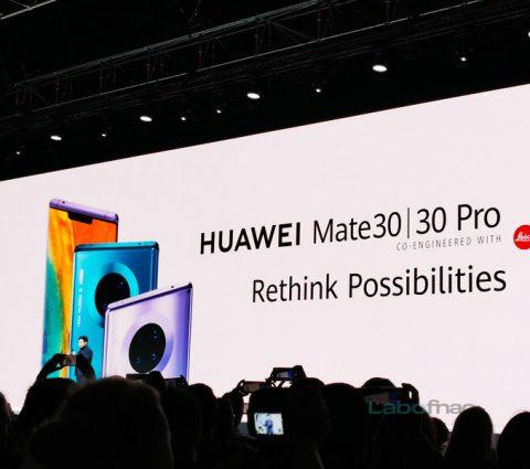 Huawei Mate 30 et Mate 30 Pro : tout sur les nouveaux fleurons de la marque chinoise
