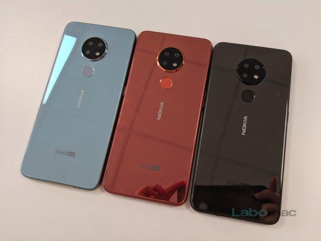 Les Nokia 6.2 © LaboFnac