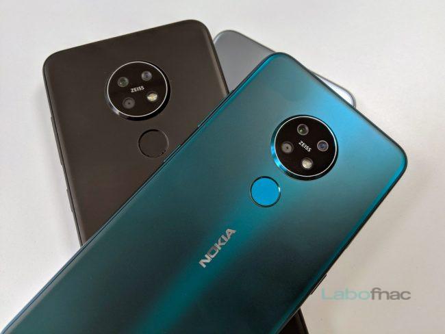Les Nokia 7.2 © LaboFnac
