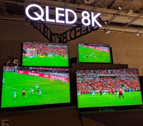 IFA 2019 – Samsung décline son téléviseur QLED 8K au format 55 pouces