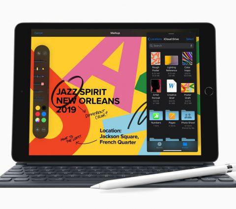 iPad 7e génération : plus grand et taillé pour iPadOS