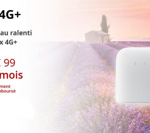 Free lance sa box 4G+ sans engagement à 29,99 euros par mois