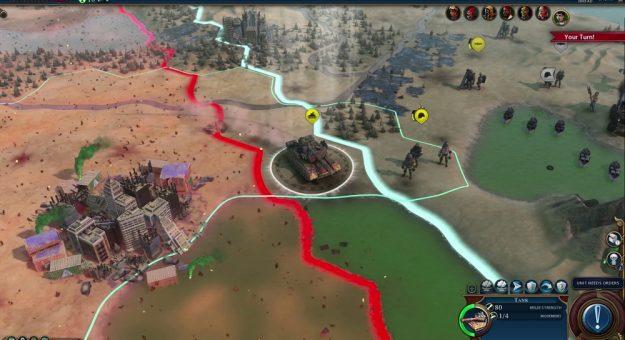 Civilization VI Fléau rouge (Red Death)