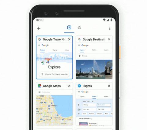 Chrome : Google va revoir la gestion des onglets de son navigateur