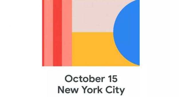 Les Google Pixel 4 seront présentés le 15 octobre