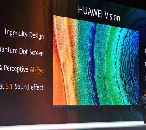 Huawei Vision : un téléviseur 4K dopé à l'intelligence artificielle
