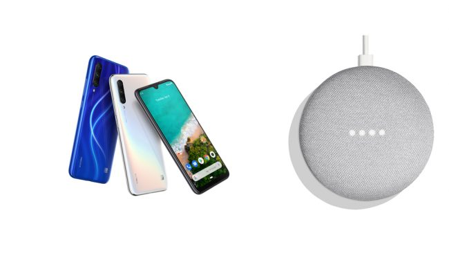 Xiaomi Mi A3 + Google Home Mini