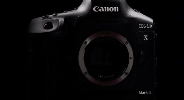Canon EOS-1D X Mark III : le développement du boîtier ultra haut de gamme est en cours