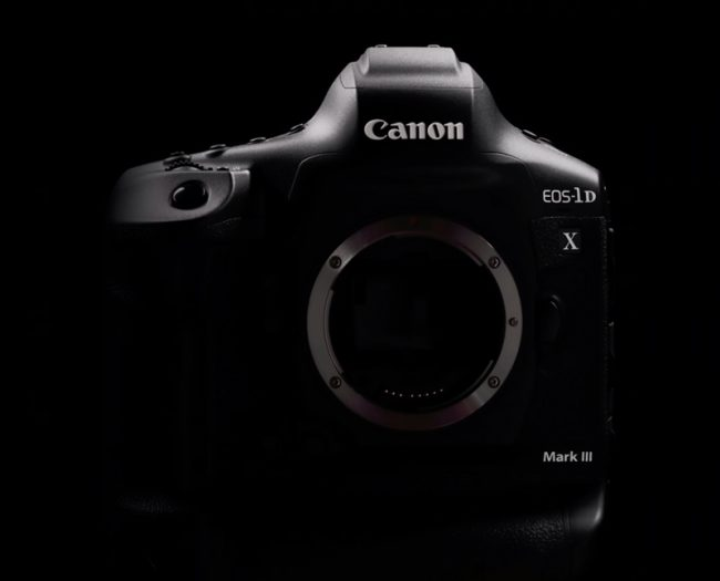 Le Canon EOS-1D X Mark III © Canon