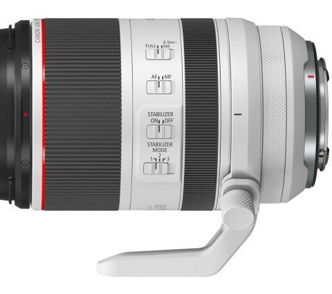 Canon ajoute un 70-200 mm et un 85 mm à son parc d'optiques RF