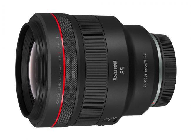 Canon RF 85 mm