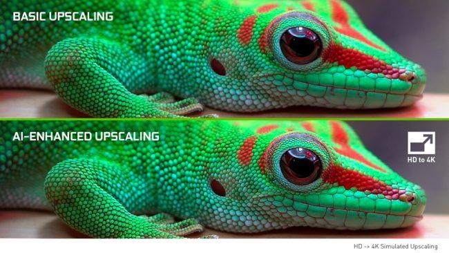 Nvidia upscaling 4K