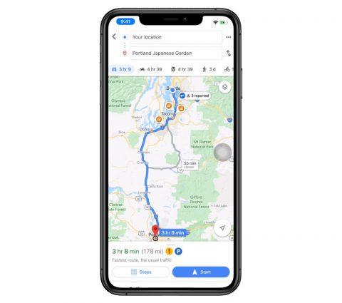 Google Maps : les rapports d'incidents s'enrichissent et débarquent sur iOS