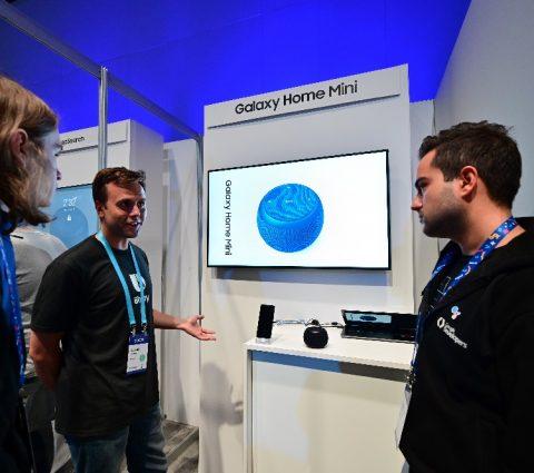 Galaxy Home Mini : l'enceinte connectée se montre avant sa présentation