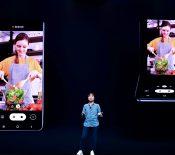 Samsung montre son nouveau concept de smartphone pliable à clapet