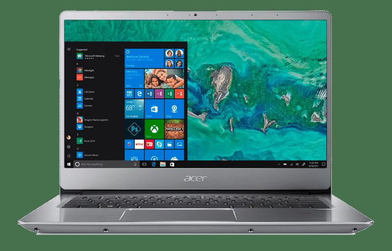 test Acer Swift 3 SF314-56G-771Y