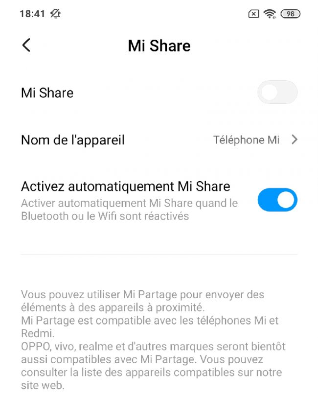 Xiaomi Mi Share