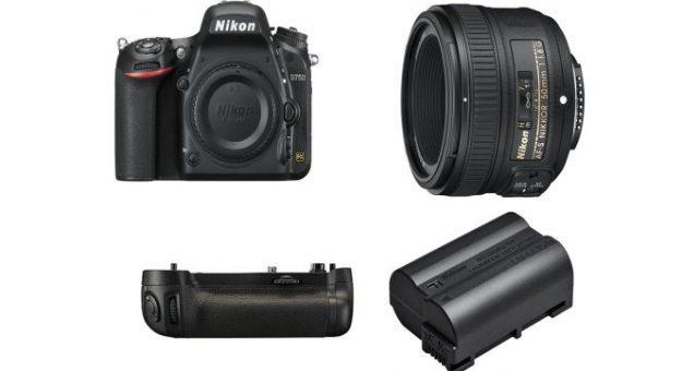 Black Friday 2019 – Le Nikon D750 (+ grip, batterie et optique Nikkor AF-S 50 mm) à 1299 euros