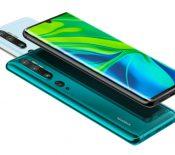 Xiaomi Mi Note 10 : le smartphone avec une caméra de 108 mégapixels, c'est lui