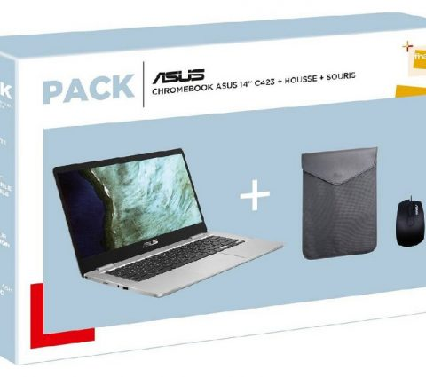 Black Friday 2019 – Le pack Chromebook Asus, housse et souris à 299,99 euros au lieu de 479,99 euros